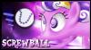 Screwball Stamp by jewlecho