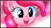 Happy Pinkie Pie Stamp by jewlecho