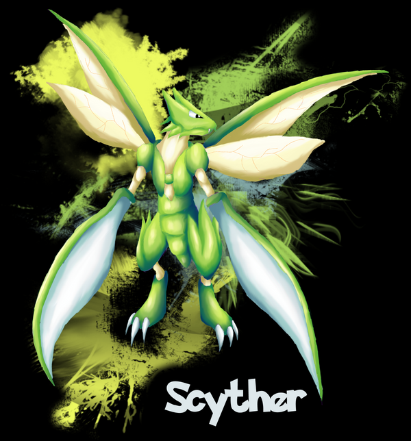 Scyther t shirt design by jewlecho on deviantart - Scyther wallpaper ...