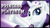 Princess Platinum Stamp by jewlecho