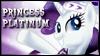 Princess Platinum Stamp by jewlecho