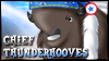 Chief Thunderhooves Stamp by jewlecho