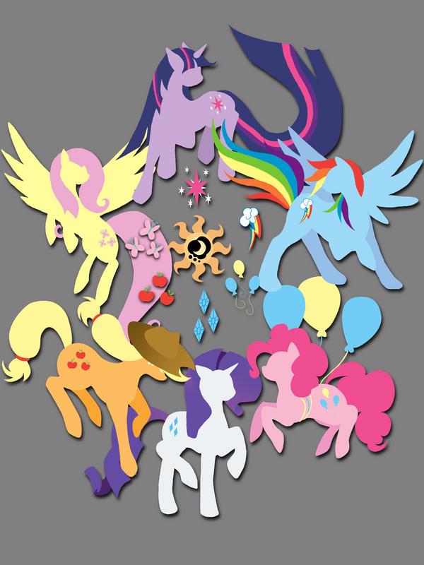 Circle of Friendship (T-Shirt Design) by jewlecho