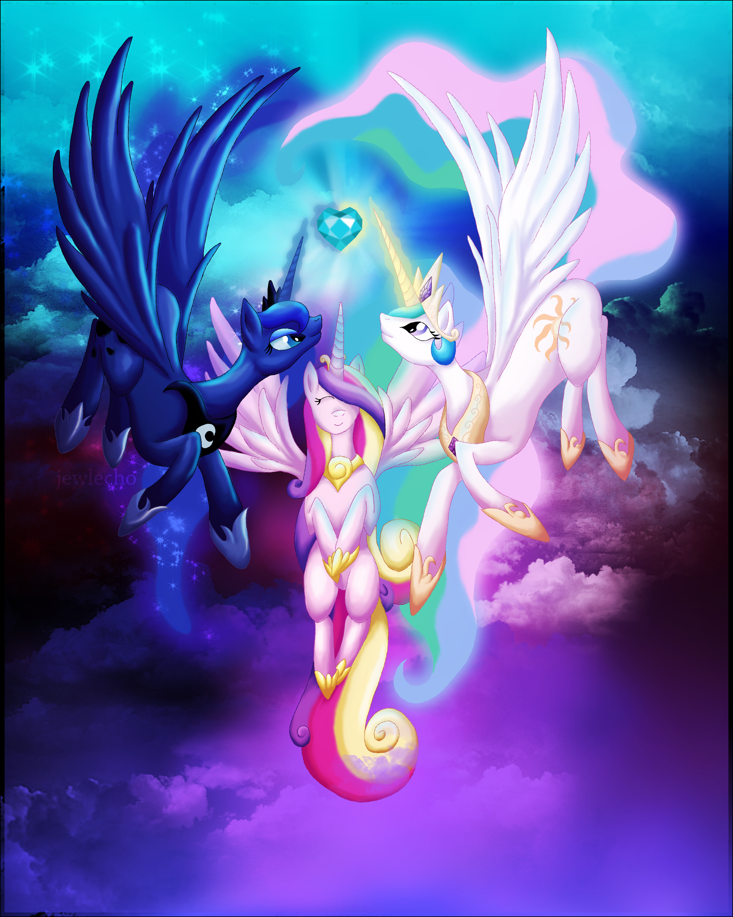 Ascension of A Princess by jewlecho