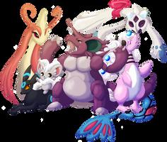 Pokemon - Singles: Final Fantasy Team