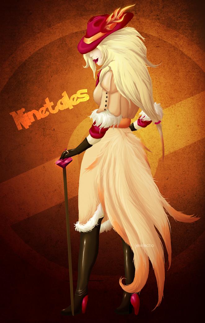 Ninetales Gijinka by jewlecho