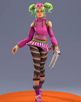 [SFM] Fortnite Battle Royale: Zoey (Candy Girl) by joeCalzon