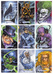 DC Comics Legacy sketch cards by RayDillon