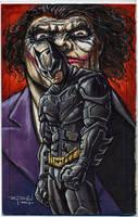 Batman: Dark Knight and Joker by RayDillon