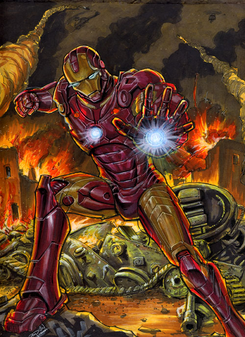 Ironman commission by RayDillon