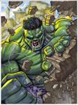 Hulk Smash Commission