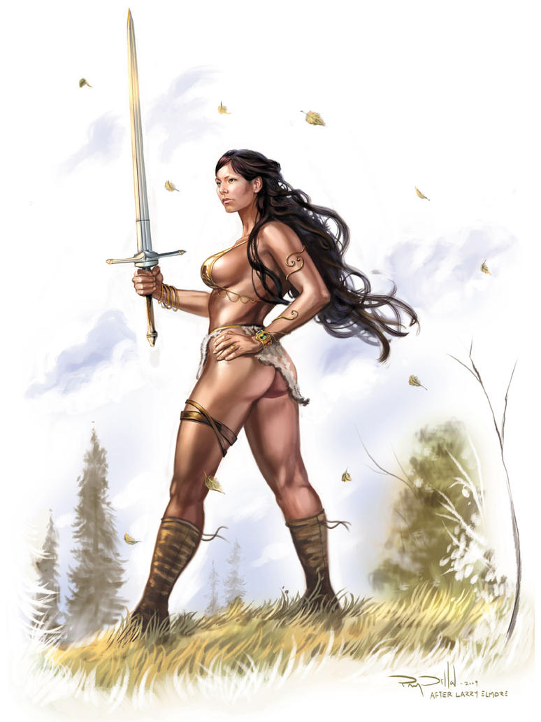 Dvoboj slika  - Page 2 Fantasy_Warrior_Woman_by_RayDillon