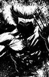 Splattery Wolverine by RayDillon