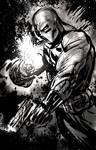 Mayhem sketch with Grey by RayDillon