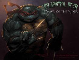 Raphael : Dawn of the Ninja by RayDillon