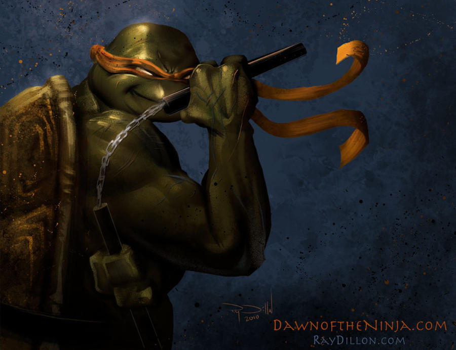 TMNT - Michelangelo concept by RayDillon