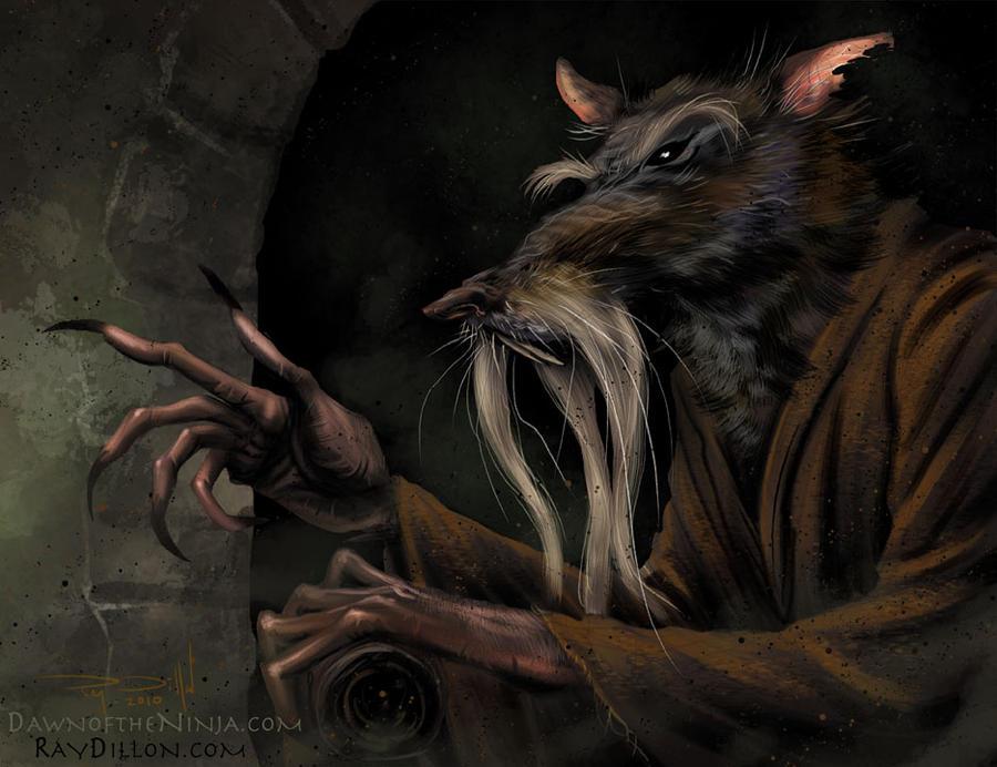 TMNT - Master Splinter concept by RayDillon