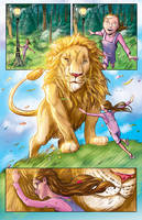 Chronicles of Narnia comic pg2 by RayDillon