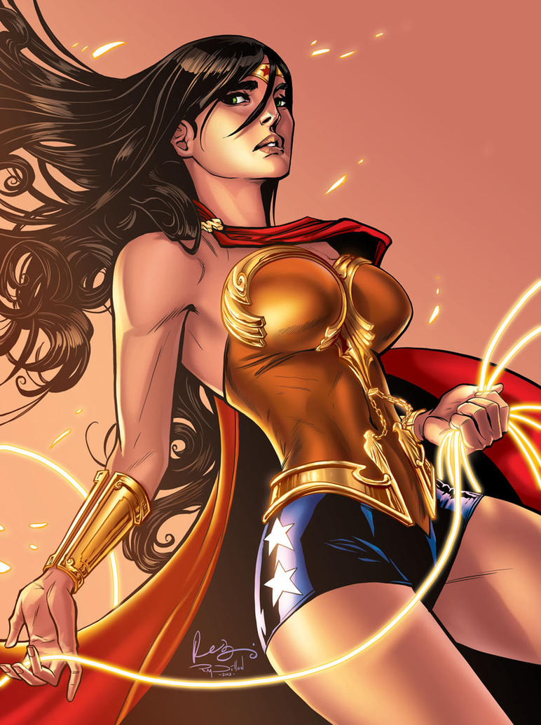 WONDER WOMAN Redesigned by Renae De Liz! by RayDillon