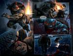 TURTLES: Dawn of the Ninja: TMNT RAPH FIGHT SCENE!