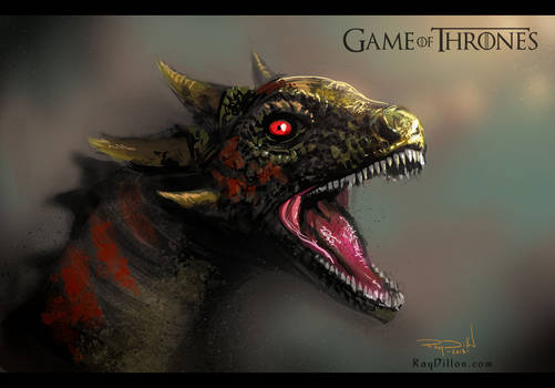 GAME OF THRONES: Khaleesi's Dragon