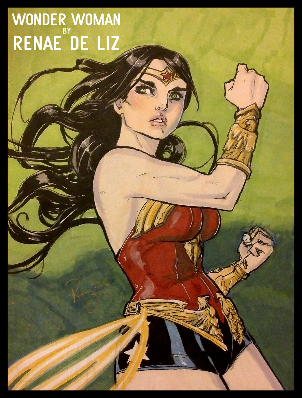 WONDER WOMAN by RENAE DE LIZ - FOR SALE!