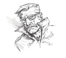 Commissioner Gordon by RayDillon