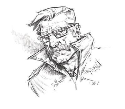 Commissioner Gordon by RayDillon