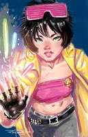 JUBILEE (X-MEN) by RayDillon