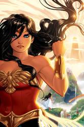 WONDER WOMAN by Renae De Liz for DC's new series!