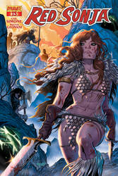 RED SONJA #16 Cover by Renae De Liz! Dynamite Ent!