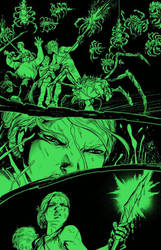 THE GATEKEEPER #1 in-progress preview! by RayDillon