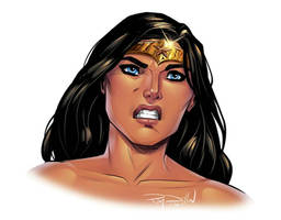 Legend of Wonder Woman drawn and colored by me