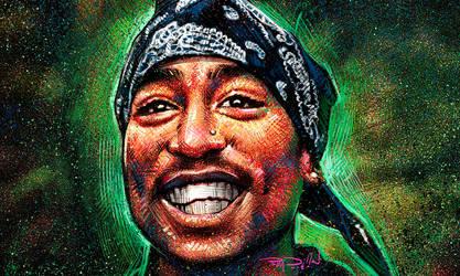 Tupac Smiling