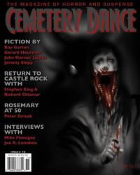 Cemetery Dance Magazine Cover Art