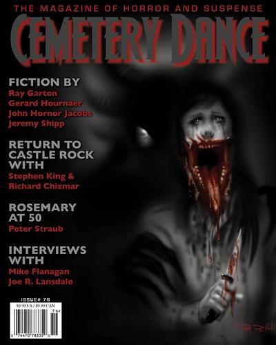 Cemetery Dance Magazine Cover Art by RayDillon