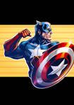 Captain America drawing