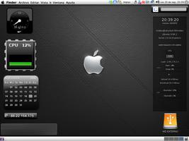 Mac LinuX OS Desktop by tamaiide