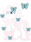 Mlp Fluttershy x Double Diamond(CLOSED)
