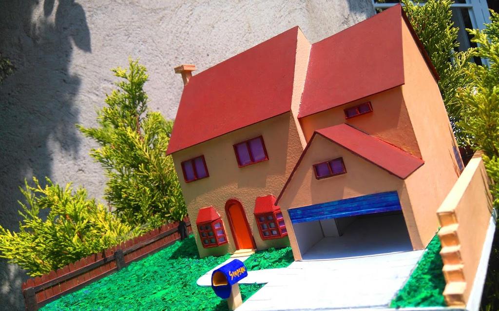The Simpson house by MannuelAlegria