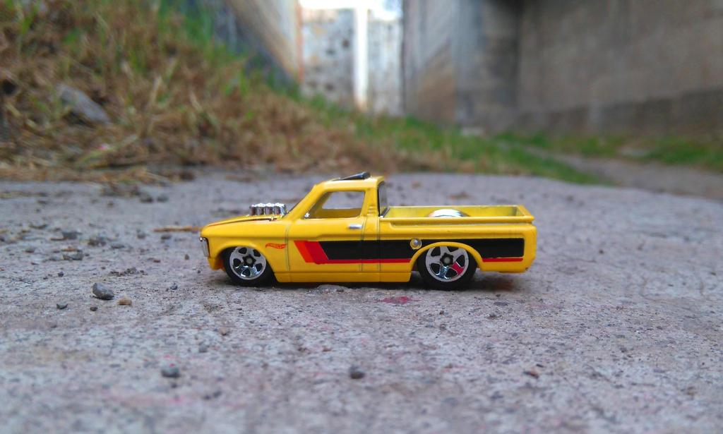 72 Custom Chevy Luv by MannuelAlegria
