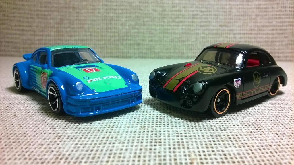 Porsche Falken y 356A Outlaw by MannuelAlegria