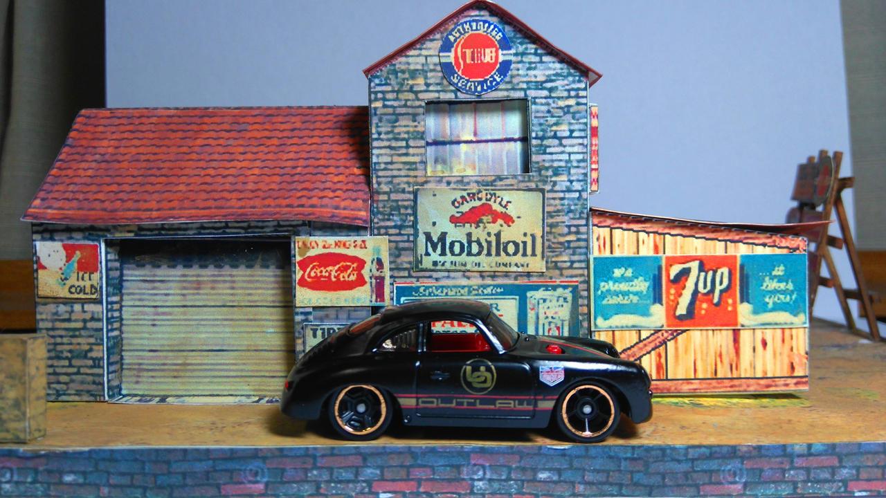 Porsche 356A Outlaw by MannuelAlegria