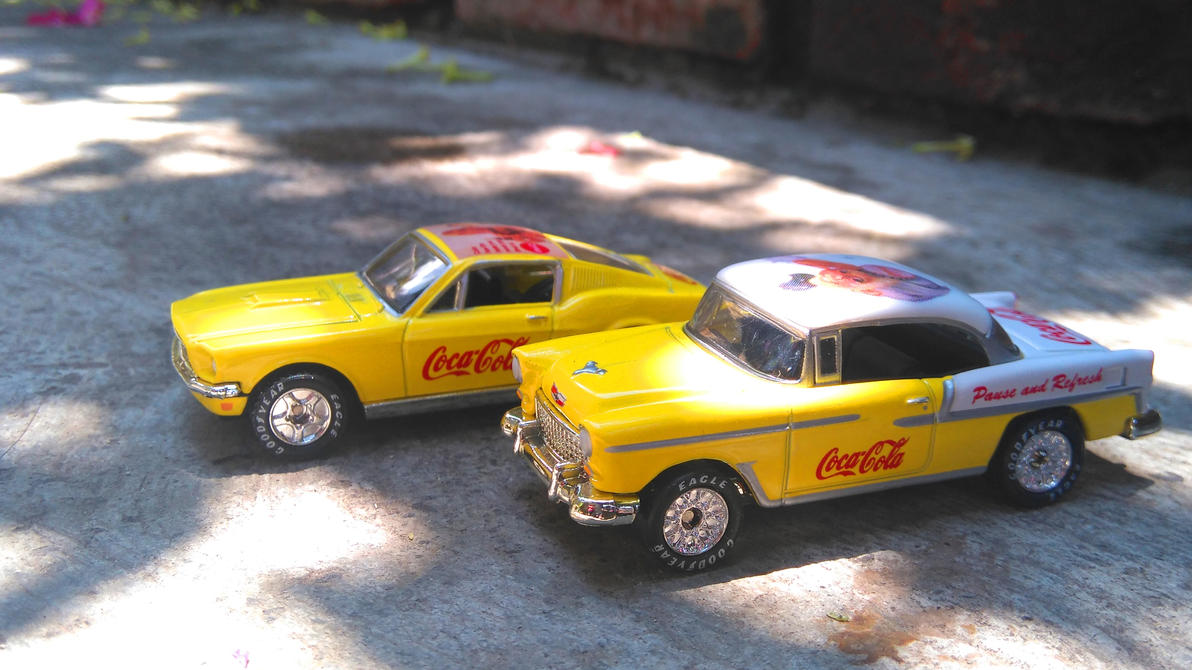 Mustang Chevy Bel Air by MannuelAlegria