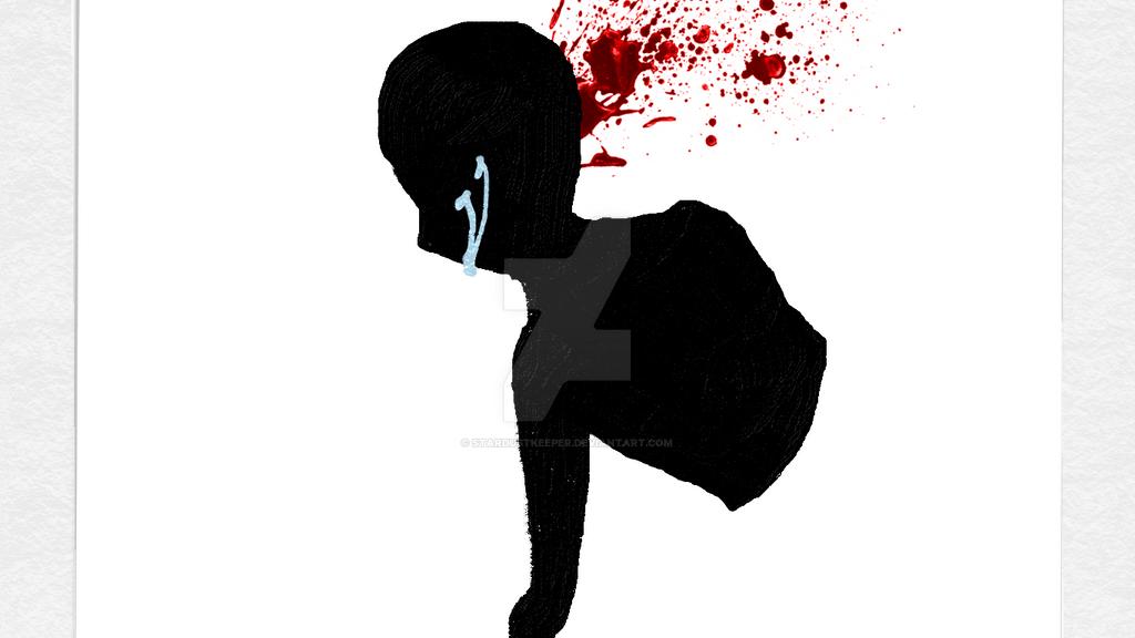 Blood  Splatter 1 by StarDustKeeper