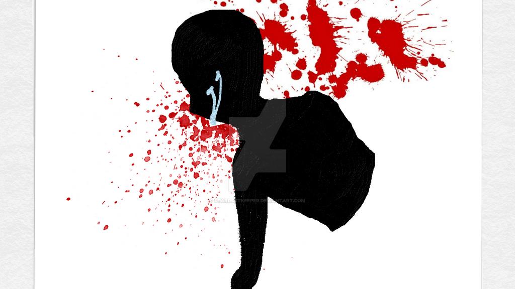 Blood Splatter 2 by StarDustKeeper