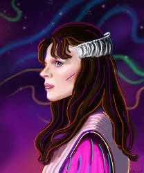 Delenn Speed Paint by UsagiTenshi