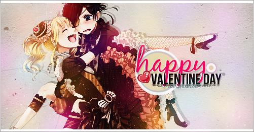happy valentine day by Airumi-Dai