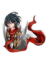 Mikasa by ZipperZoned