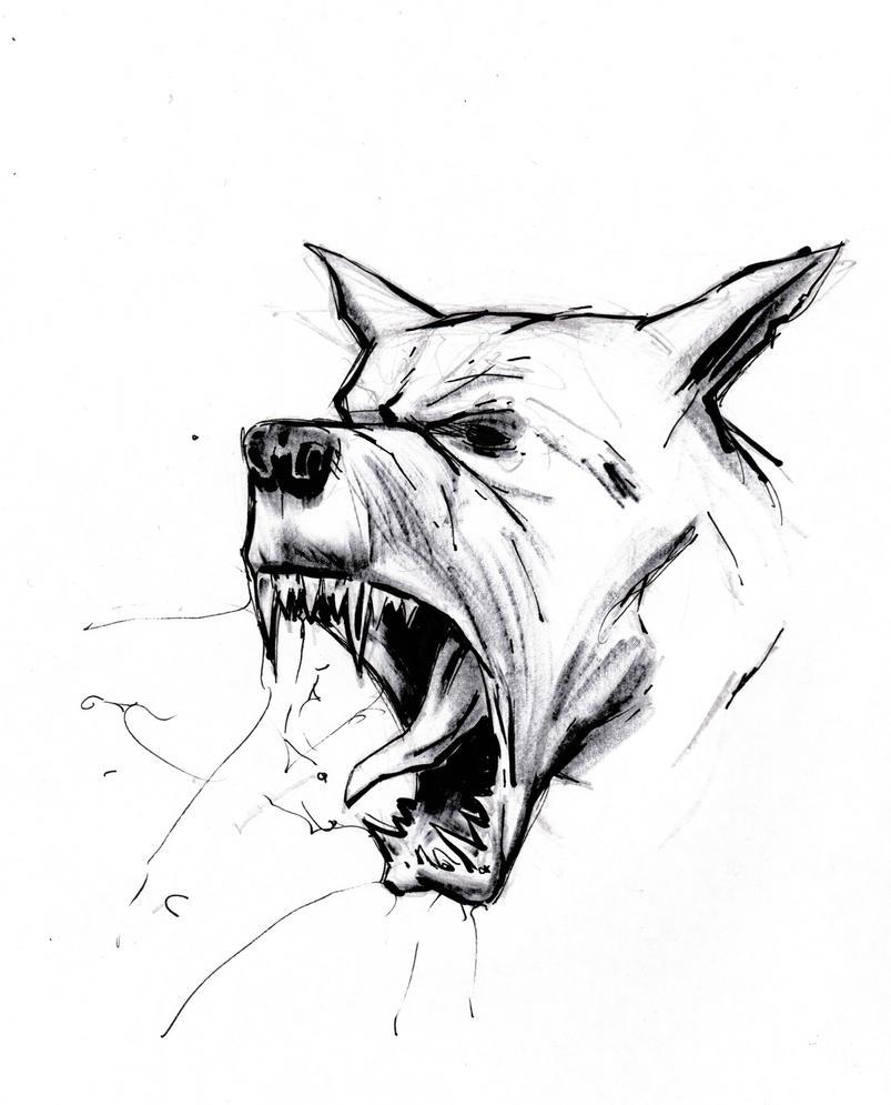 Dog doodle by AnttiKosonen